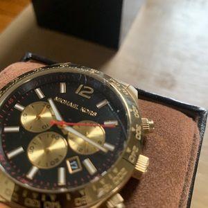MK Men's Gold Watch